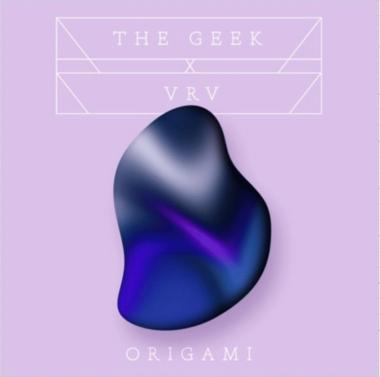 pochette du dernier single de The Geek X Vrv