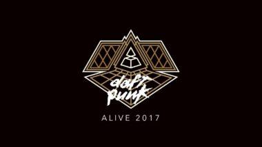 daft punk alive 2017