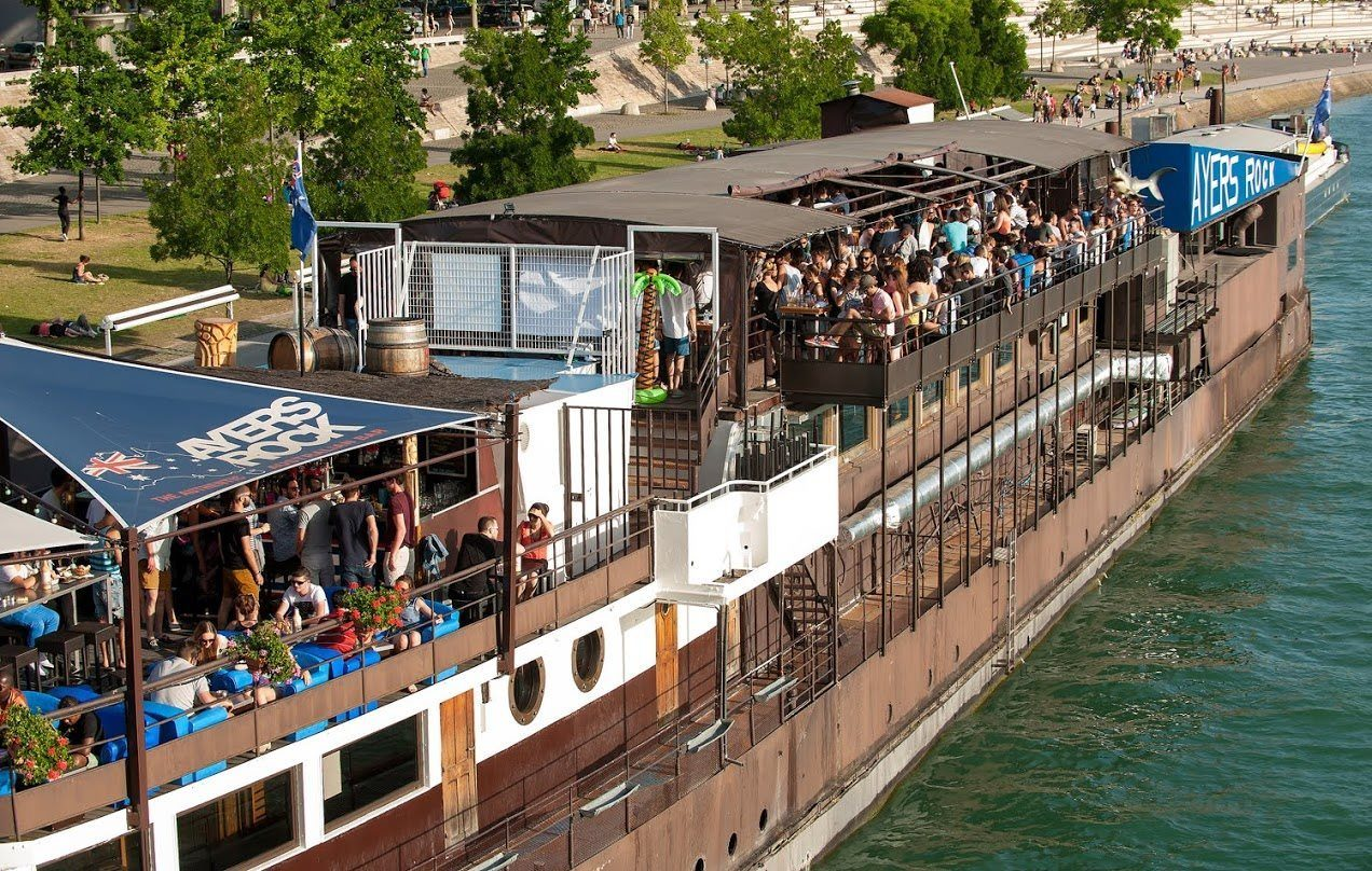 Heure Bleue, Ayers rock Boat, Lyon, péniche, sortie, club