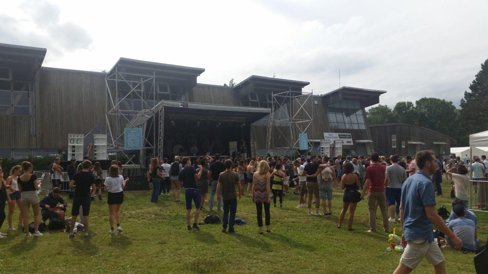 evasion festival scene