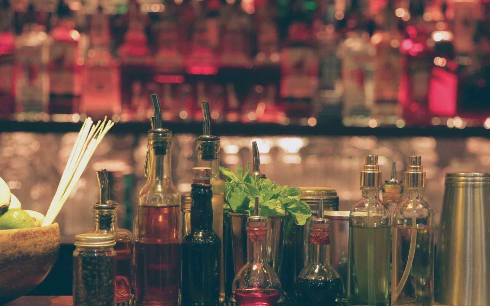 cocktails soda bar