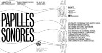 Extra! Nuits Sonores : Papilles Sonores