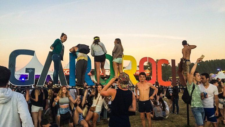 Garorock 2016 festival perches