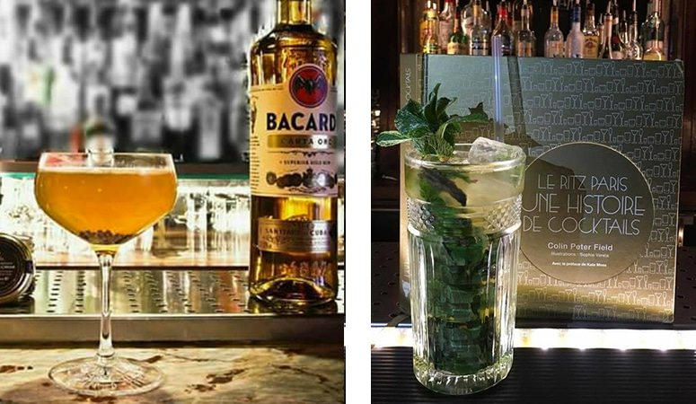 Nouveaux cocktails du bar Le Florian à Lyon