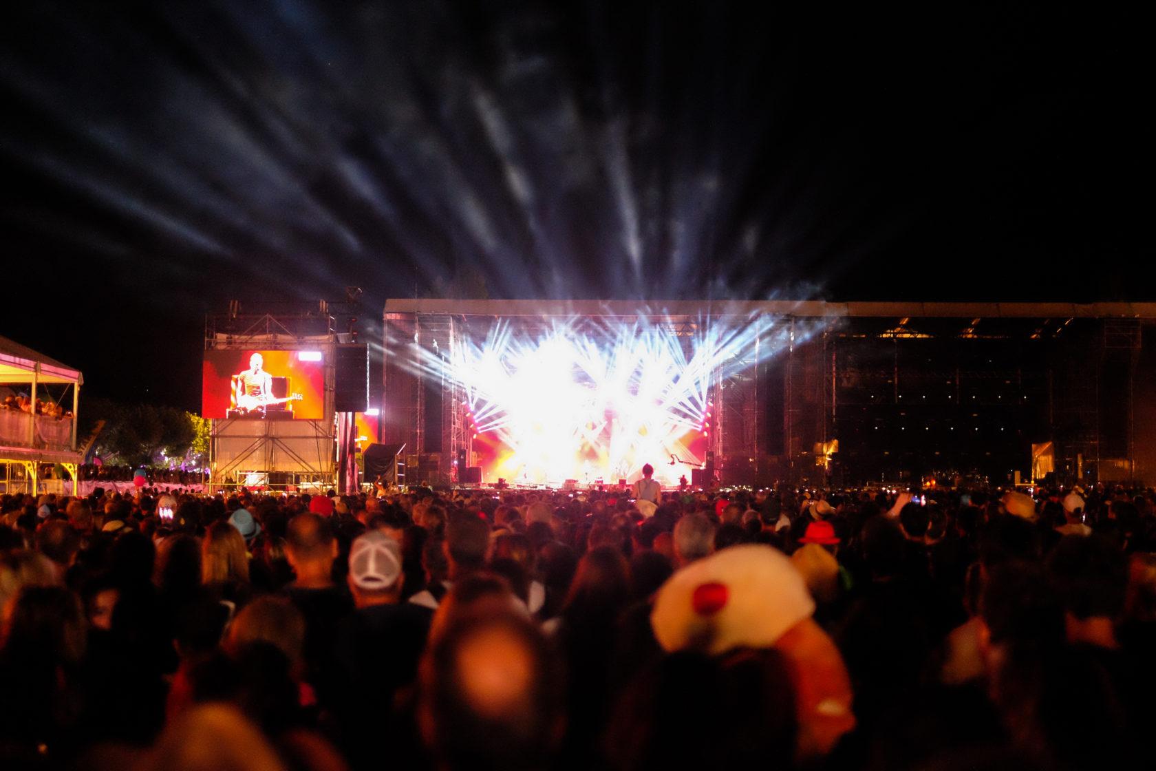Une soirée au festival Musilac 2017