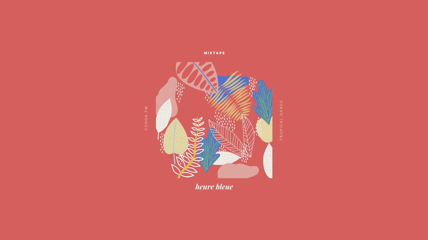 mixtape heure bleue octobre 2019 conga fm