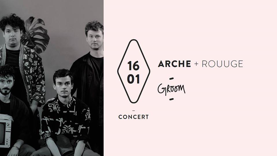 Concert : Arche + Rouuge