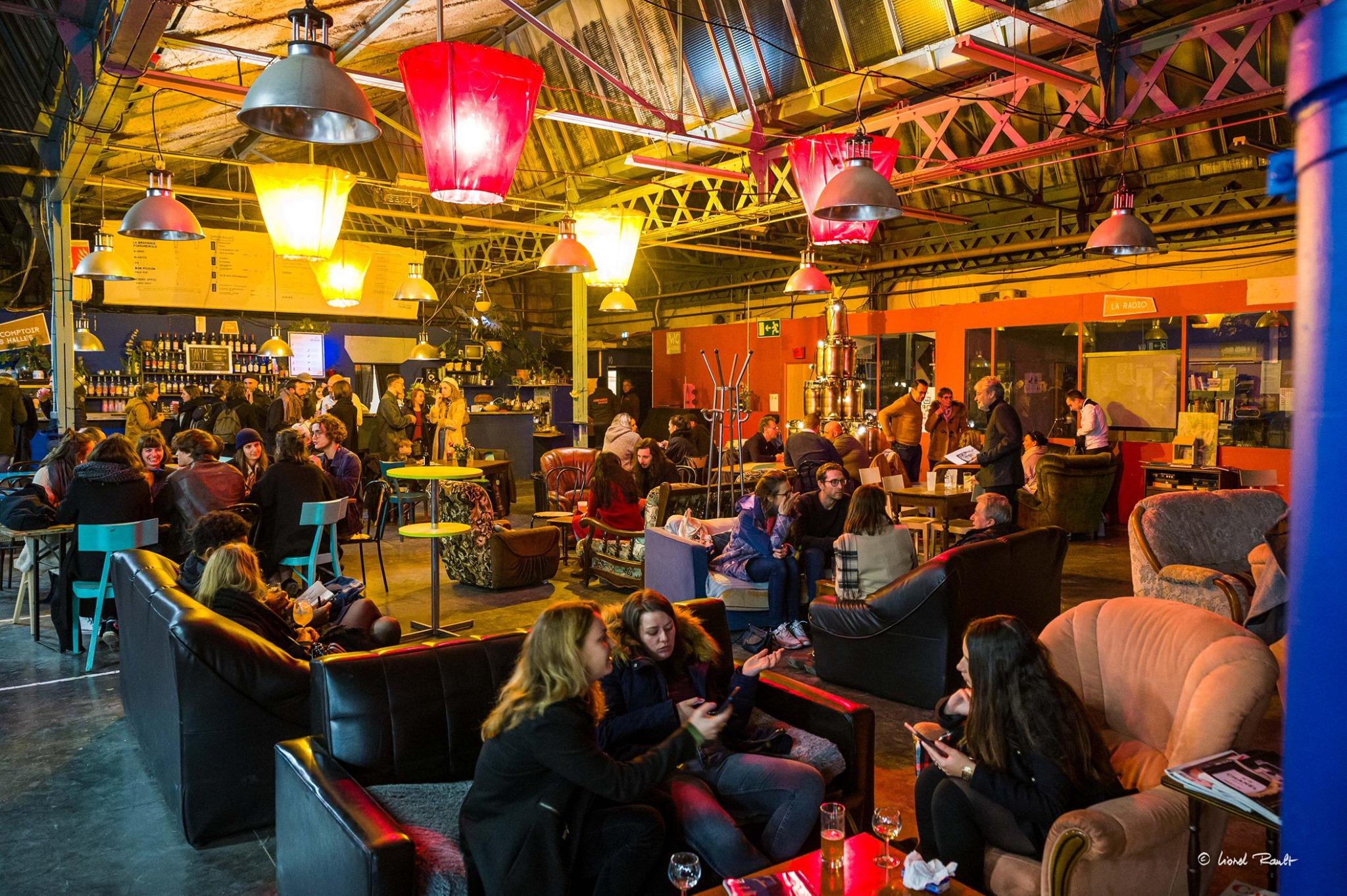 les halles du faubourg bar de nuit