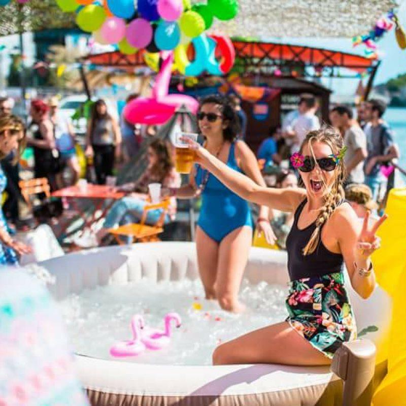 La Playa Pailletée #2 - Jacuzzi & Bigoudis