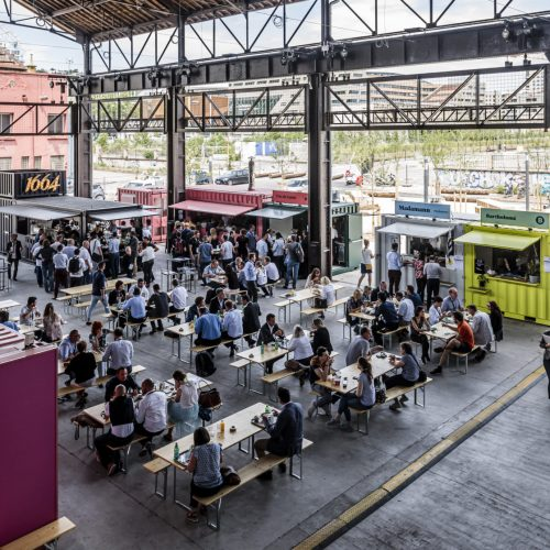 Heat Halle à Manger Lyon Confluence - Brice Robert