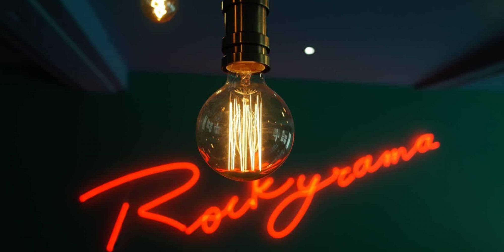 ecriture rockyrama ampoule