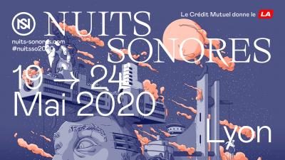 nuits sonores 2020 affiche officielle